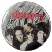 The Doors - 'Group' Button Badge